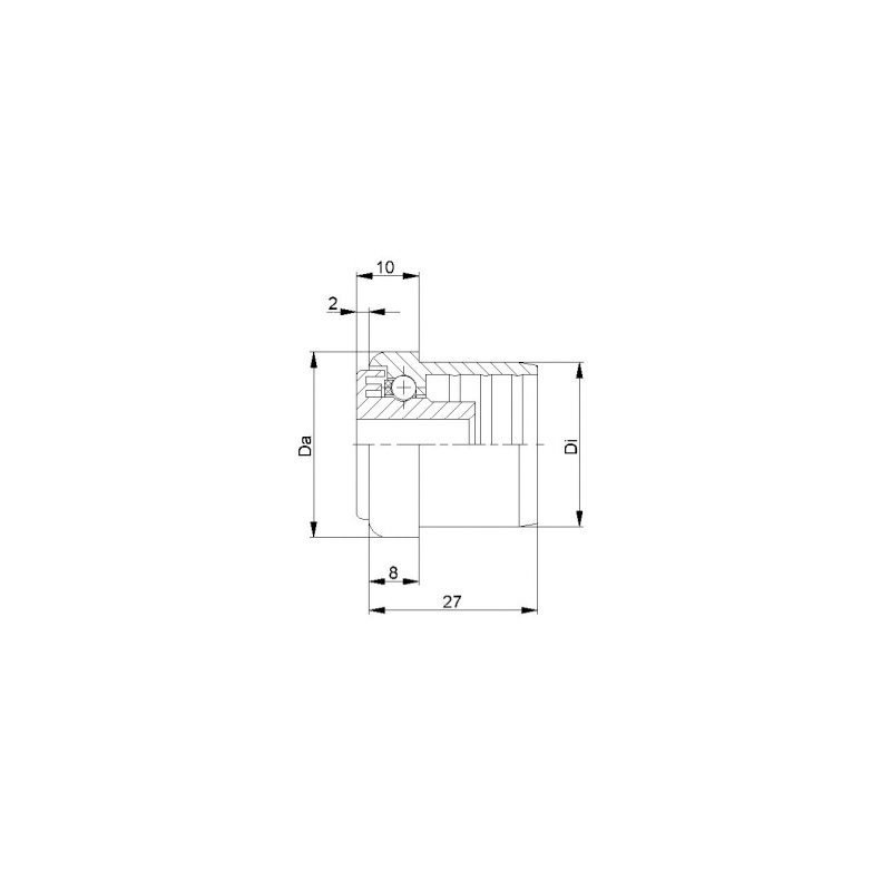 Plastic Roller Bearings Ktr 02